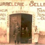 Lodève, 7 avenue Denfert, la bourrelerie/sellerie de Fulcran Sylvestre Bourrié