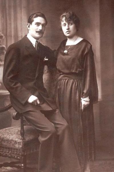 Ivry-sur-Seine : Bourrié Jules et Germaine, mariage 1922