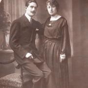 Bourrié Jules et Germaine Guth-Bourrié 1922