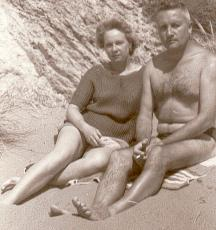 Marcelle et Maurice Bourrié en 1963