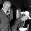 Bourrié Maurice Georges (1917/1997) et son épouse Marcelle Gransard, en 1970
