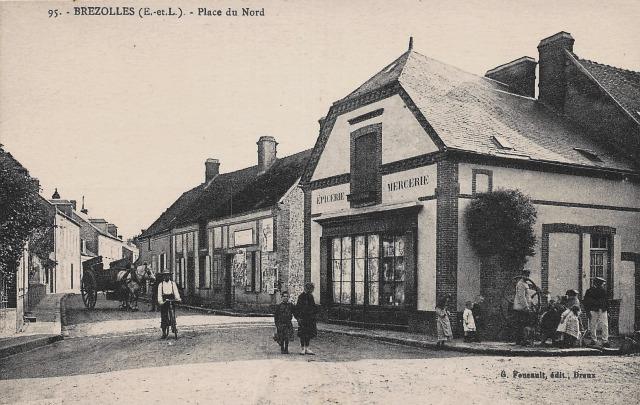 Brézolles (28) L'épicerie CPA