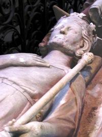 Gisant de Carloman Ier, abbaye de Saint-Denis