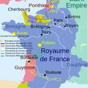 Le royaume des Capétiens, Guerre de Cent Ans en 1356