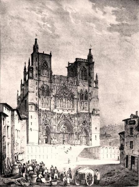 La cathédrale Saint-Maurice de Vienne où est inhumé Boson en 887