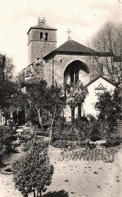 Ceilhes-et-Rocozels (Hérault) L'église Saint Jean Baptiste CPA