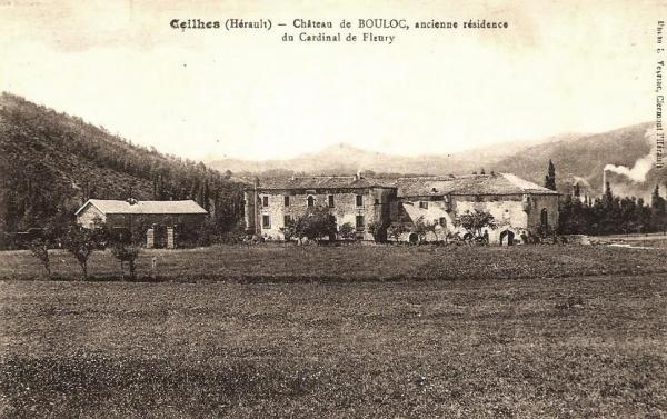 Ceilhes-et-Rocozels (Hérault) Le château de Bouloc CPA