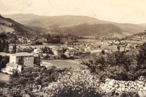 Ceilhes-et-Rocozels (Hérault) Vue générale CPA