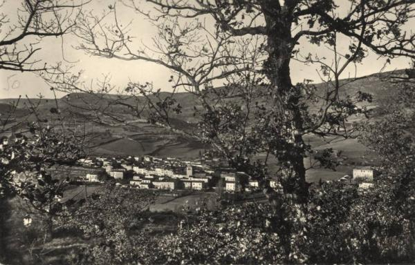 Ceilhes-et-Rocozels (Hérault) Vue générale en 1955 CPA