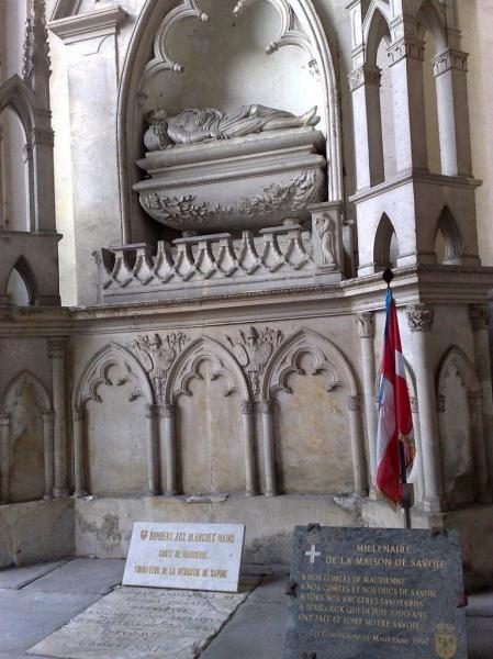 Cénotaphe d'Humbert Ier à Saint-Jean-de-Maurienne