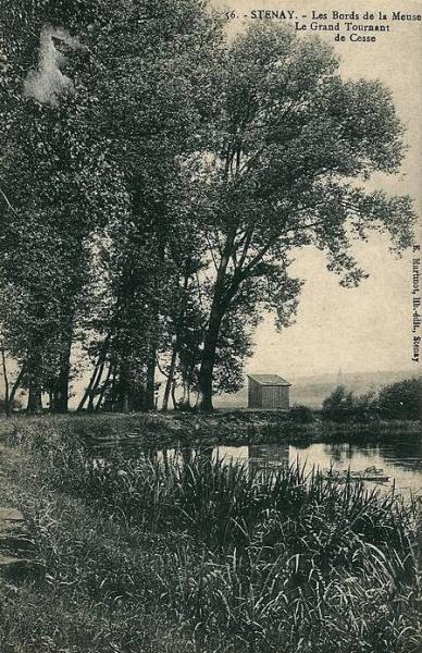 Cesse (Meuse) Les bords de Meuse