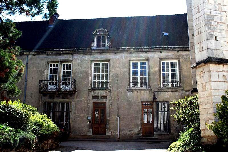Chalon-sur-Saône (71) Cloître capitulaire Saint-Vincent