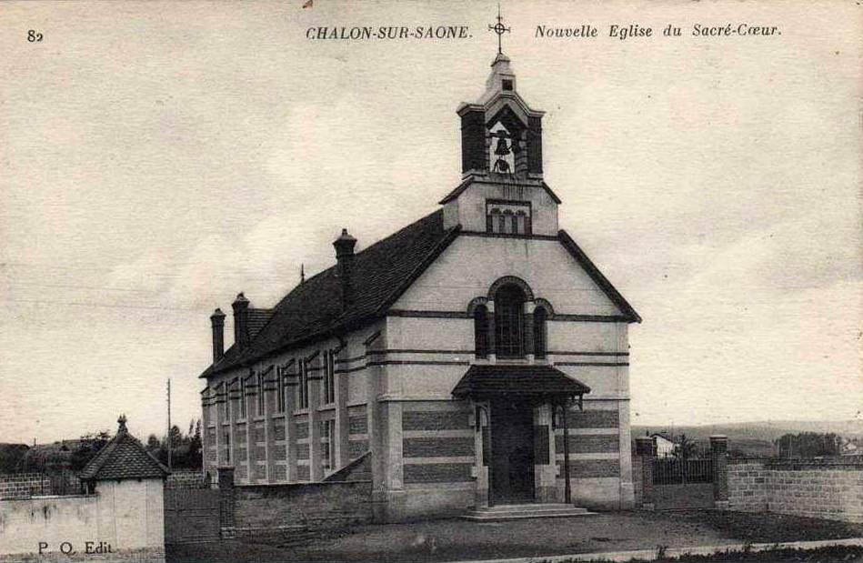 Chalon-sur-Saône (71) Eglise du Sacré-Coeur CPA