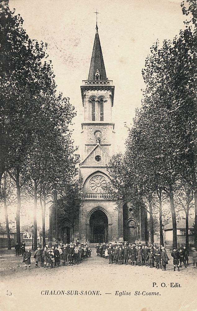 Chalon-sur-Saône (71) Eglise Saint Côme CPA