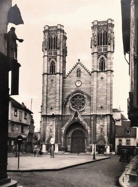 Chalon-sur-Saône (71) Eglise Saint-Vincent CPA