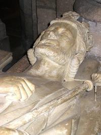 Gisant de Charles Martel, abbaye de Saint-Denis
