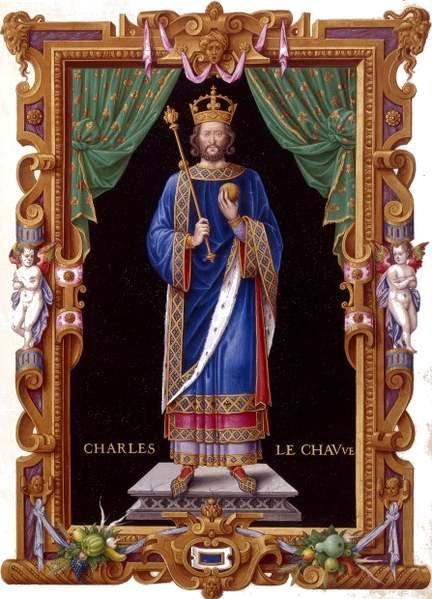 Charles II dit le Chauve