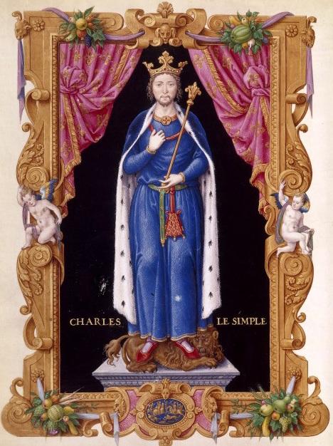 Charles III dit le Simple, gravure vers 1550