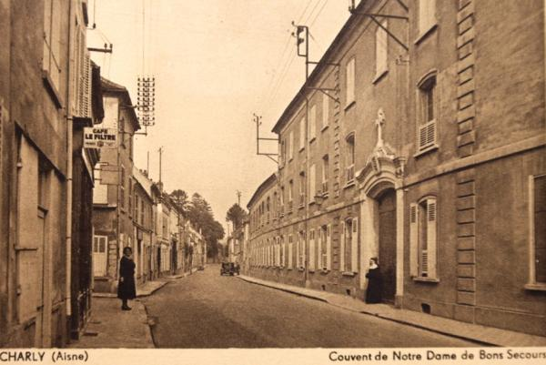 Charly-sur-Marne (Aisne) CPA Couvent Notre-dame de Bonsecours