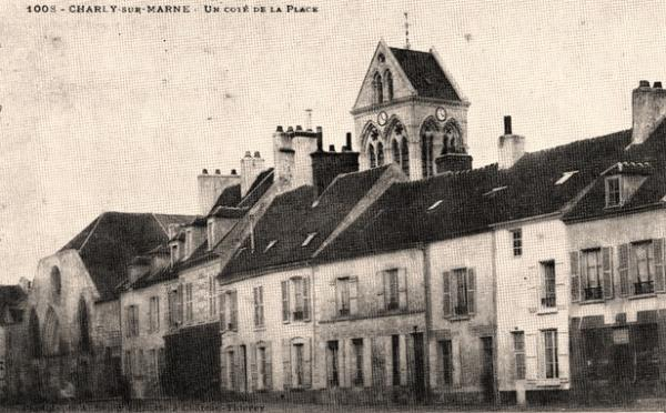 Charly-sur-Marne (Aisne) CPA Place