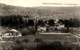Charly-sur-Marne (Aisne) CPA Vue générale