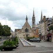 Chartres (28) L'église Sainte-Foy