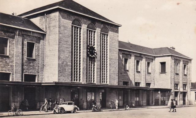 Chartres (28) La Gare CPA