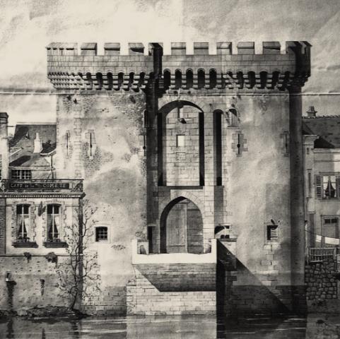 Chartres (28) La porte Guillaume CPA