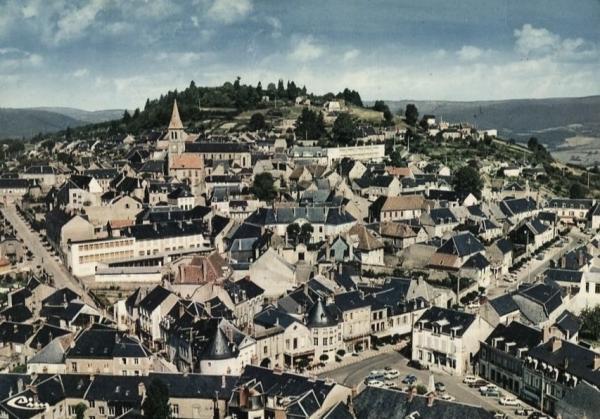 Château-Chinon (Nièvre) Vue générale