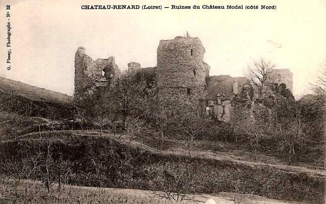 Château-Renard (45) Château féodal CPA