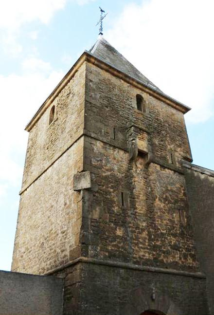 Chauvency-Saint-Hubert (Meuse) L'église Saint-Hubert