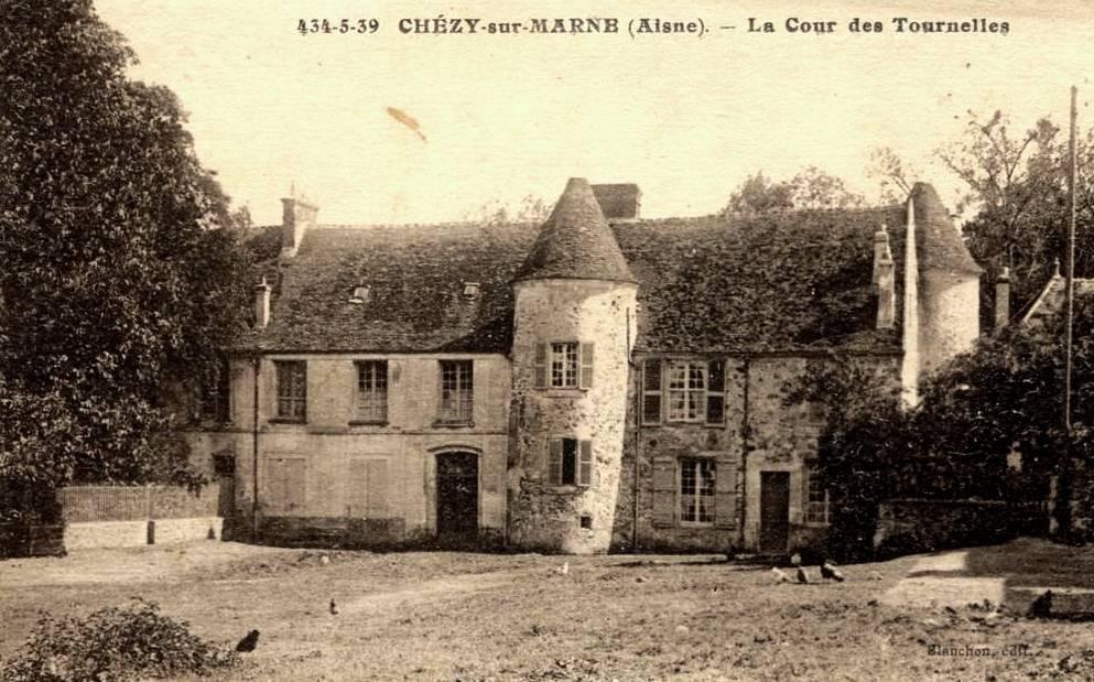 Chézy-sur-Marne (Aisne) CPA Les Tournelles