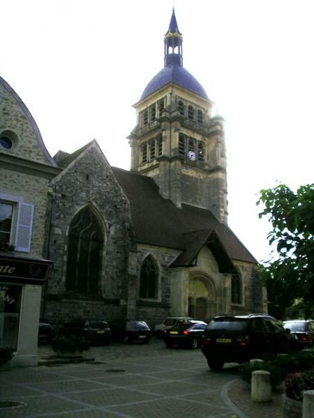 Chézy-sur-Marne (Aisne) Eglise Saint Martin en 2004