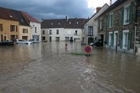 Chézy-sur-Marne (Aisne) Inondations en 2009
