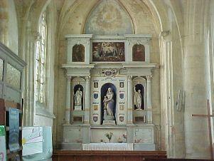 Chézy-sur-Marne (Aisne) Eglise Saint Martin intérieur