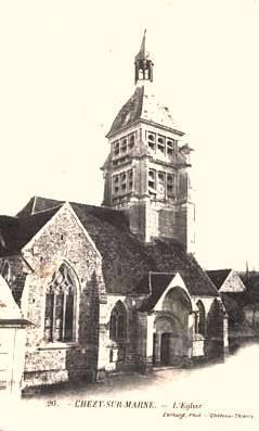 Chézy-sur-Marne (Aisne) Eglise Saint Martin