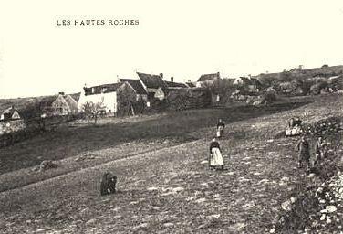 Chézy-sur-Marne (Aisne) CPA Les Hautes Roches