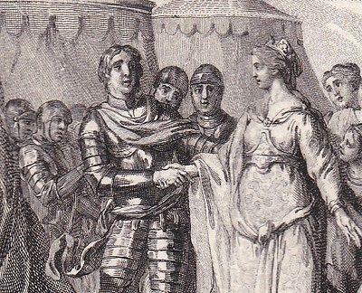 Childéric et  Basine de Thuringe, mariage