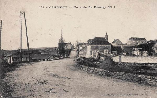 Clamecy (Nièvre) Beaugy CPA