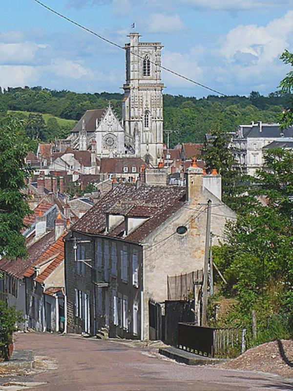 Clamecy (Nièvre) L'église Saint-Martin
