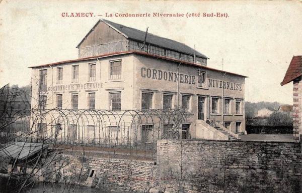 Clamecy (Nièvre) La Cordonnerie Nivernaise CPA