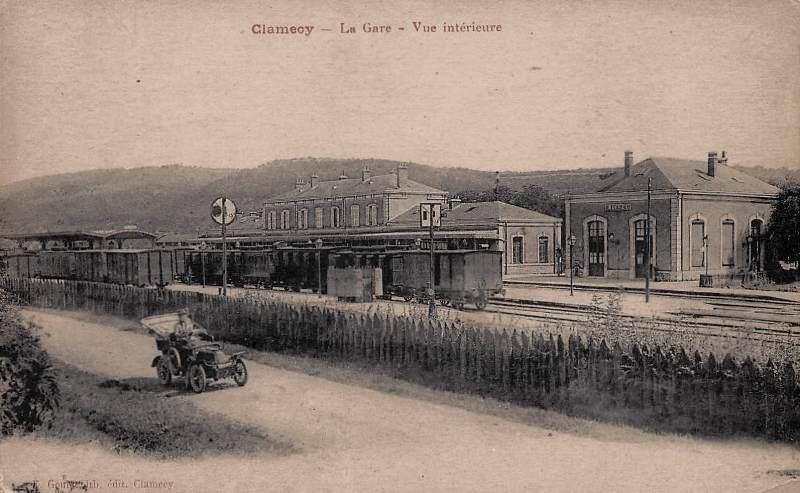 Clamecy (Nièvre) La gare CPA