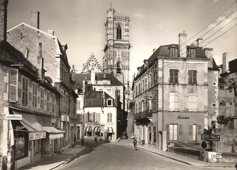 Clamecy (Nièvre) La tour Saint-Martin CPA