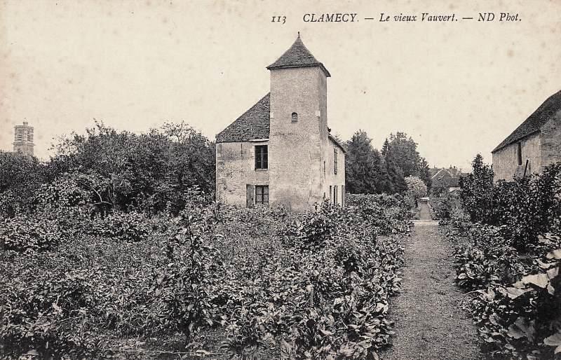 Clamecy (Nièvre) Le vieux Vauvert CPA