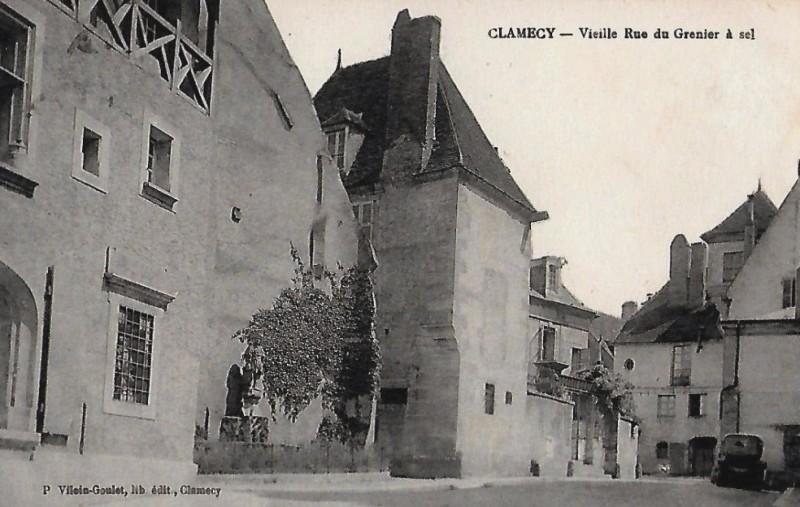 Clamecy (Nièvre) Un ancien grenier à sel CPA