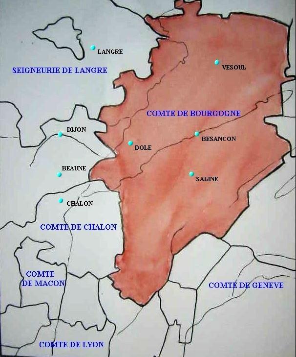 Le Comté de Bourgogne