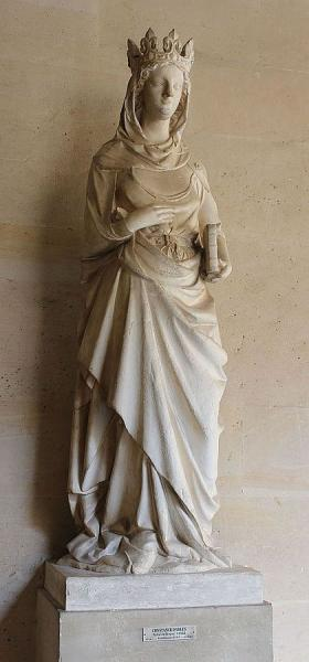 Constance d'Arles, statue du château de Versailles