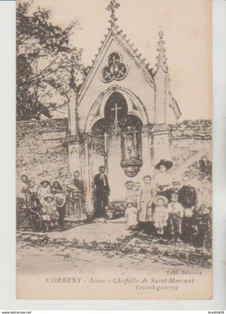 Corbeny (Aisne) La chapelle Saint Marcoul avant 1914 CPA