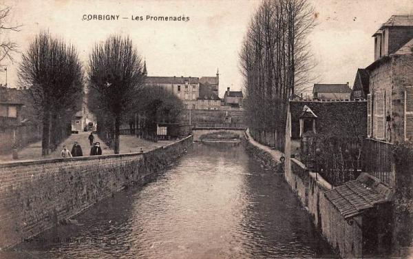 Corbigny (Nièvre) L'Anguison CPA
