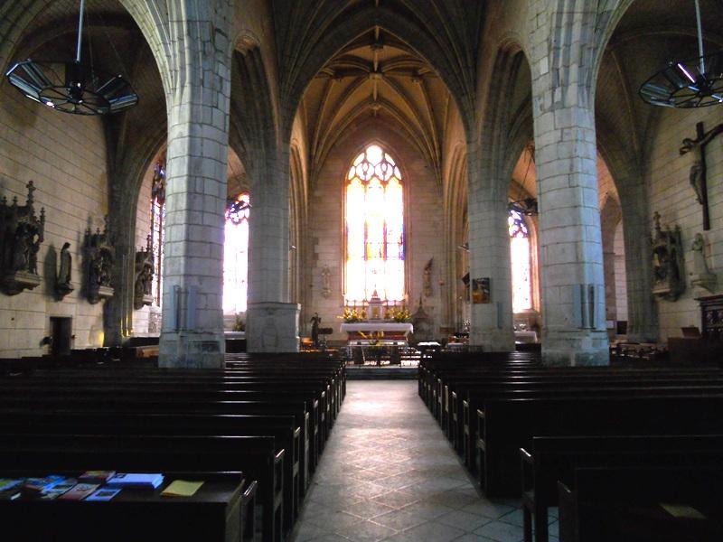 Corbigny (Nièvre) L'église Saint Seine